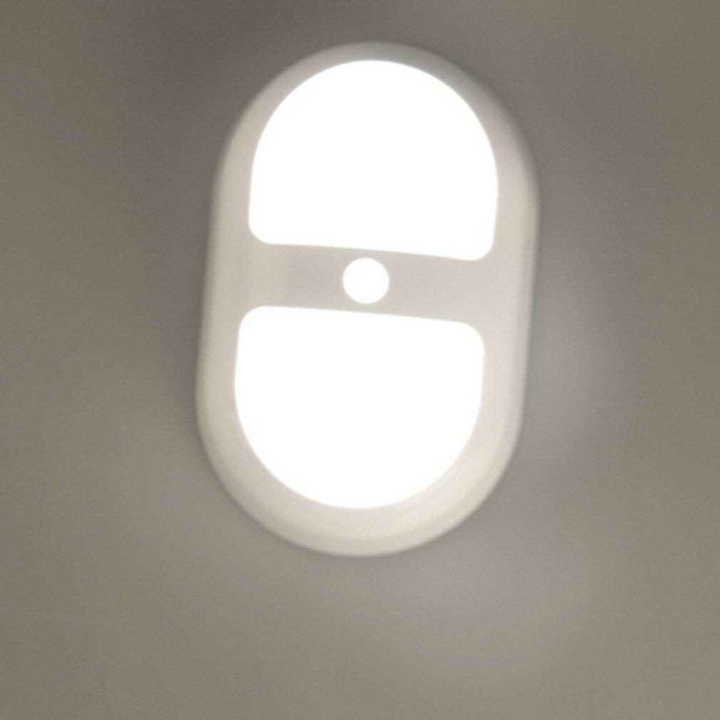 1pc 10 LED Night Light Motion Sensing Battery Power Human Sensor Lamp New ALI88