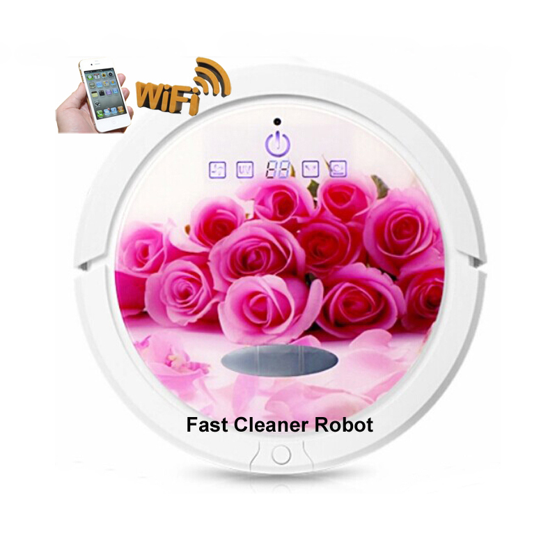US $340 0 |WIFI Smartphone App Control Most Powerful Wet And Dry Cyclone  Vacuum Cleaner Robot with Water Tank,Lithium Battery-in Vacuum Cleaners  from