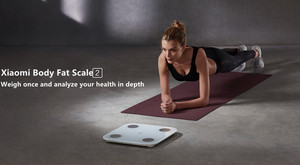 Image 2 - 2019 Xiaomi Mi Smart Body Fat Scale 2 Bluetooth 5.0 Balance Test Body Xiaomi Mi Body Composition Scale 2 Monitor LED Display