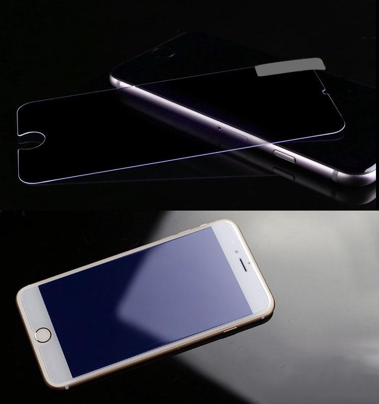 עבור iphone 6plus סרט מגן עיניים טיפול אנטי-קרני UV,נגד אור כחול LINNO מזג זכוכית מגן מסך לאייפון 6/6 פלוס