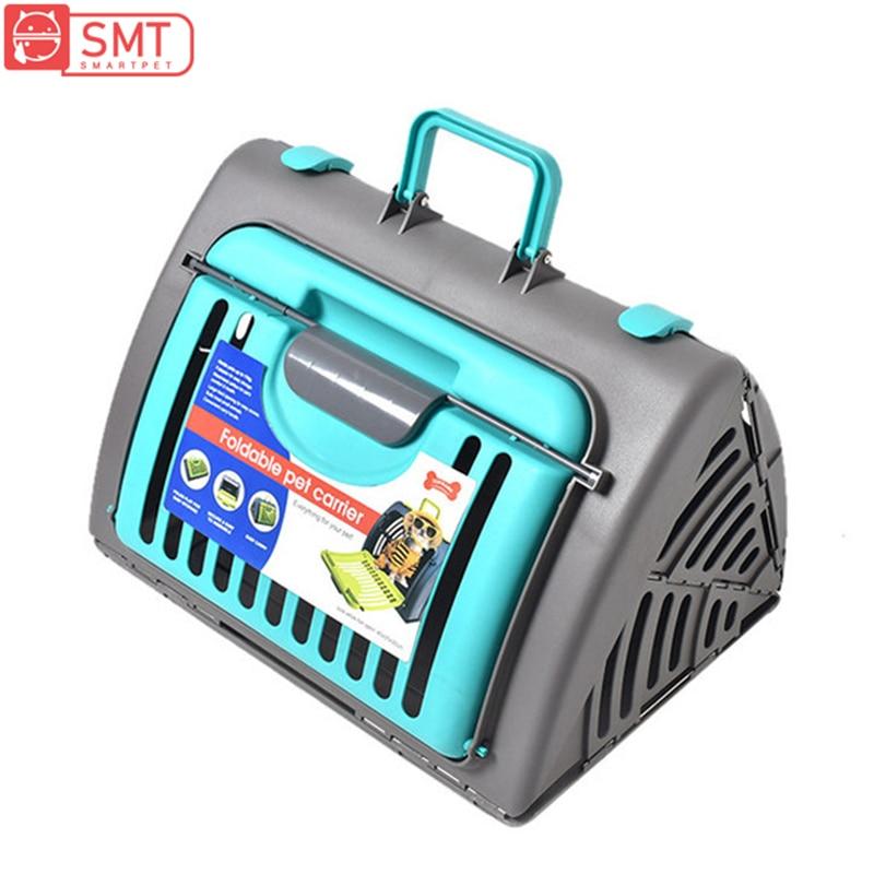 SMARTPET chien chat transporteur sac Air avion voiture respirant confortable pliable extérieur voyage petit chien chaton animaux de compagnie transportant sac à main