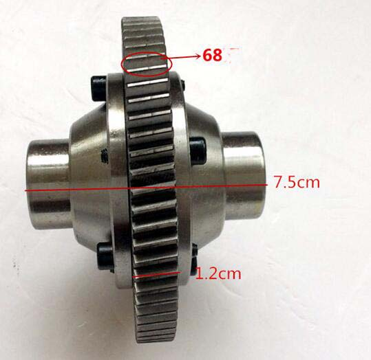 Electric Vehicle Parts Automobiles & Motorcycles Electric Tricycle Car 71 Tooth Package Shaft Assembly Differential Gear Box Tooth Bag Pinion Double Gear