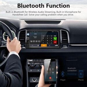 """Image 4 - جانسايت 7 """"2din راديو السيارة مشغل رقمي شاشة تعمل باللمس أندرويد 8.1 مشغل وسائط متعددة مرآة لينك Autoradio دعم كاميرا احتياطية"""