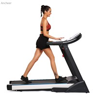 newest Treadmill Fitness V Folding Electric Treadmill Exercise Equipment Walking Running Machine Gym Home