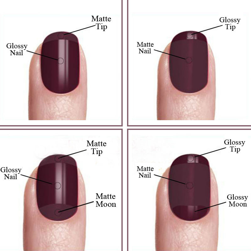 Vrenmol 1st Matt Top Coat UV Gel Nagellack Soak Off Matte Topplackat - Nagel konst - Foto 3