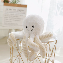 40cm Soft Toys Plush Toy Octopus Figure Cushion Kawaii  Stuffed Plush Toys For Children Baby Kids Pillow Girl Gift 43cm stuffed toys giant panda mini plush baby doll toy for kids small toys soft kawaii children pillow baby girl birthday gift