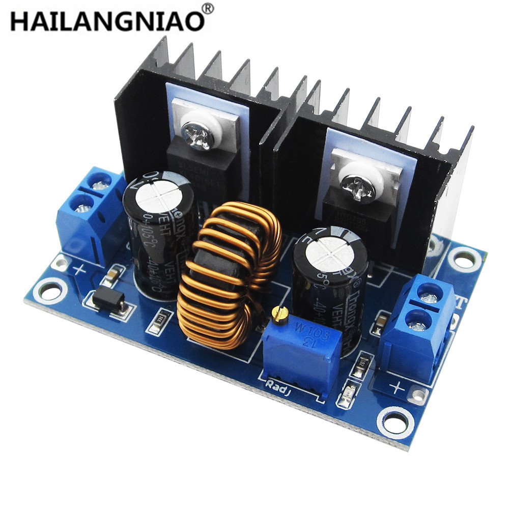 XL4016 PWM Adjustable 4-36V To 1.25-36V Step-Down Board Module Max 8A 200W DC-DC Step Down Buck Converter Power Supply woodwork a step by step photographic guide to successful woodworking