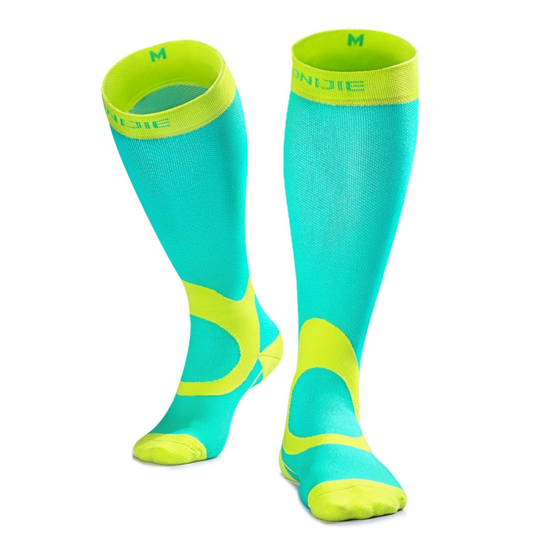 Men Anti-fatigue Riding Sports Long Socks football Marathon Treadmill Support Muscle Compression Decompression Ankle Support