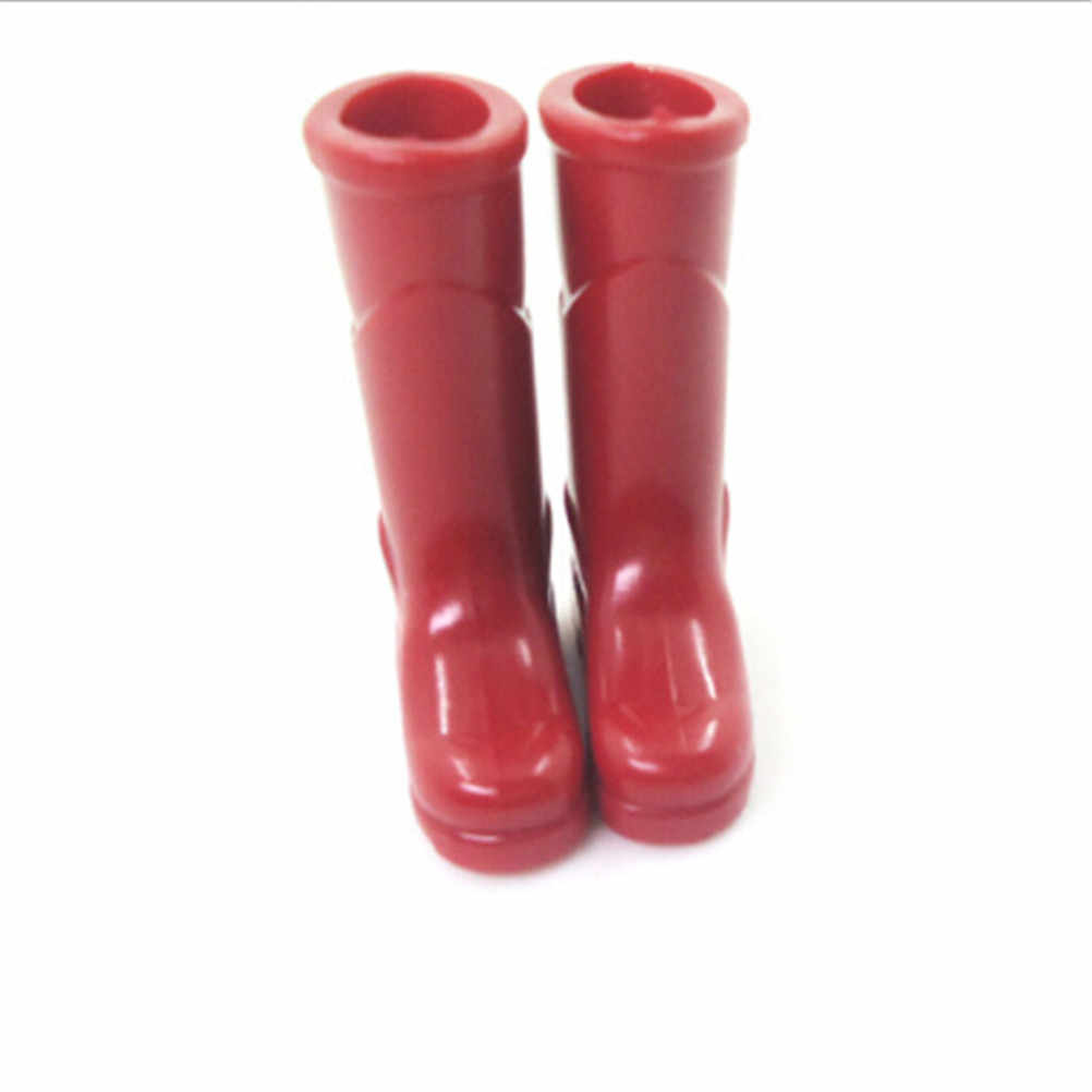 1Pair 1//12 Dollhouse Miniature Rubber Rain Boots Home Garden Yard DecJB