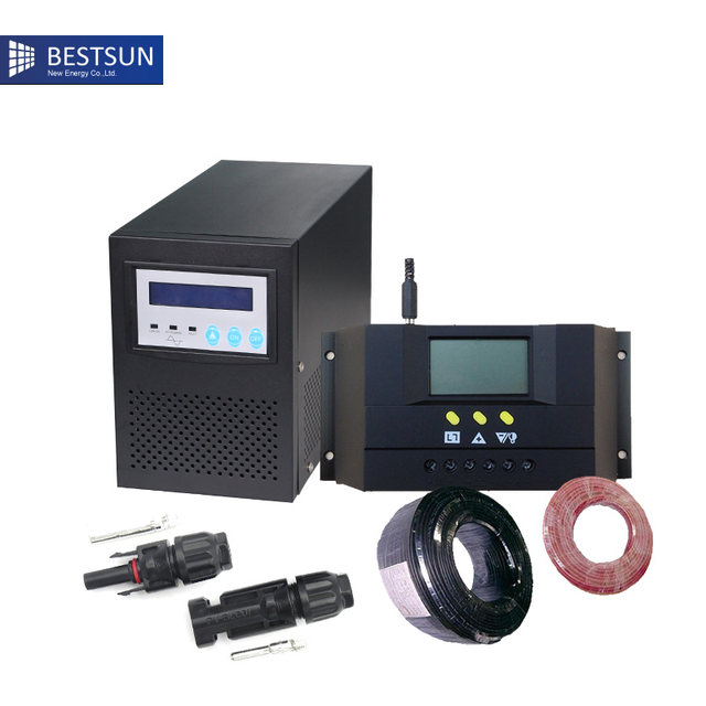 Online Shop BPS-1000W solar system for home electricity 1000w Output ...