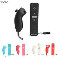 2 In 1 Built In Motion Plus Nunchuk Wireless Remote Controller For Nintendo For Wii Controller