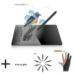 Графический планшет veikk A50 цифровая ручка планшет с 8192 уровнями пассивная ручка совместима с системой Win и Mac
