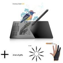 Graphics Drawing Tablet veikk A50 Digital Pen tablet with 8192 Levels Passive Pen Compatible with Win and Mac System цена и фото