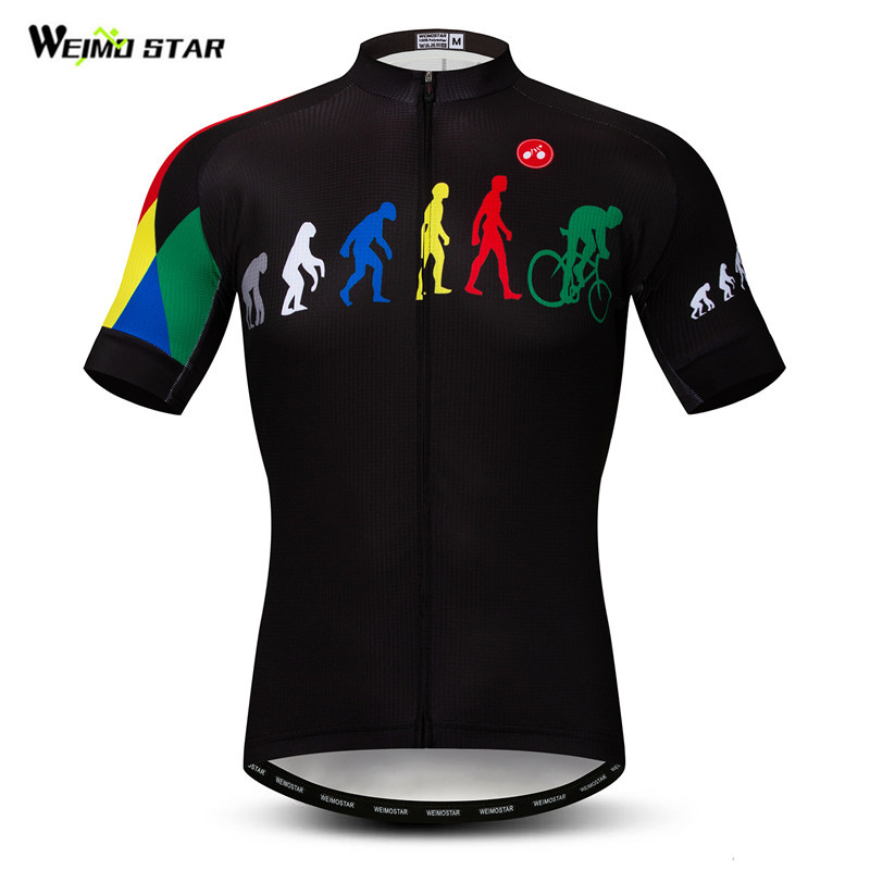 Weimostar Evolution Bike Cycling Jersey Men Summer Short Sleeve Mountain Bike Clothing Wicking MTB Bicycle Jersey Cycling ShirtWeimostar Evolution Bike Cycling Jersey Men Summer Short Sleeve Mountain Bike Clothing Wicking MTB Bicycle Jersey Cycling Shirt