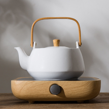 Estufa eléctrica de cerámica de 220v, accesorios para la ceremonia del té, tetera de café, leche, agua, tetera, tetera Vintage, tetera