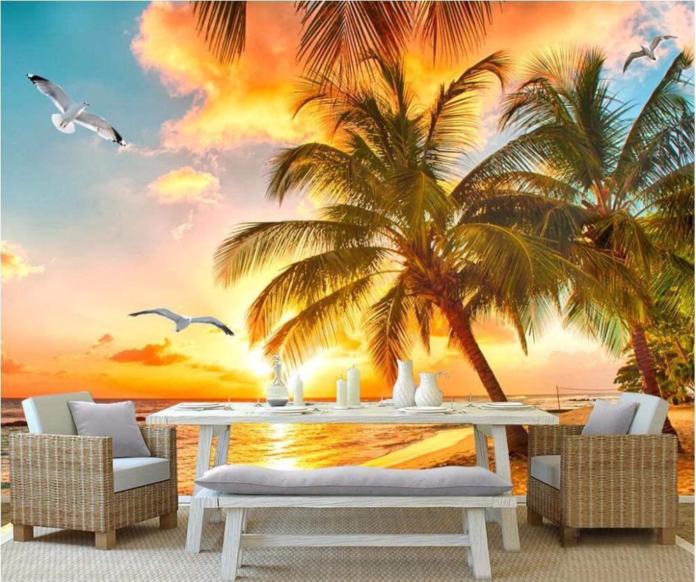 Fototapete sonnenaufgang strand  Online billig bekommen Sonnenaufgang Tapeten -Aliexpress.com ...