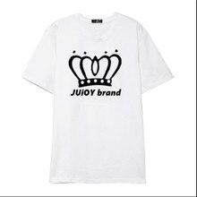 Summer 2017 new women's Juioy brand cotton T-shirt fabric wear cotton T-shirt ladies T-shirt  Big size S-XXXL
