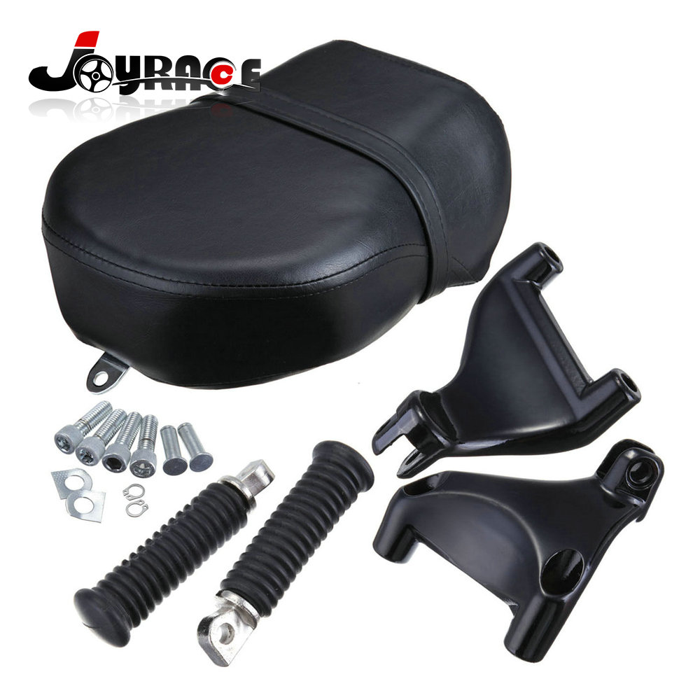 Rear Foot Peg Passenger Seat For 2007-2013 Harley Sportster 883 1200 Nightster chrome footpeg rear passenger peg mount kit for harley sportster 883 1200 2004 2013 new