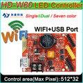 HD -W60 светодиодный Дисплей Управление;, с переключением между дальним и двойной Цвет P10 светодиодный знак модуль управления карта Управление...