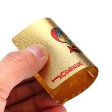 Waterproof Luxury Gold Foil Plated Poker Cards