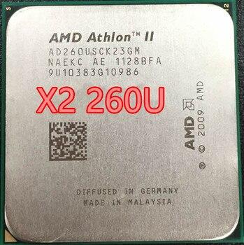 AMD Athlon II X2 260U x2 260 1.8GHz AM3 938 broches 25W/Dual-Core 2M Cache, CPU de bureau