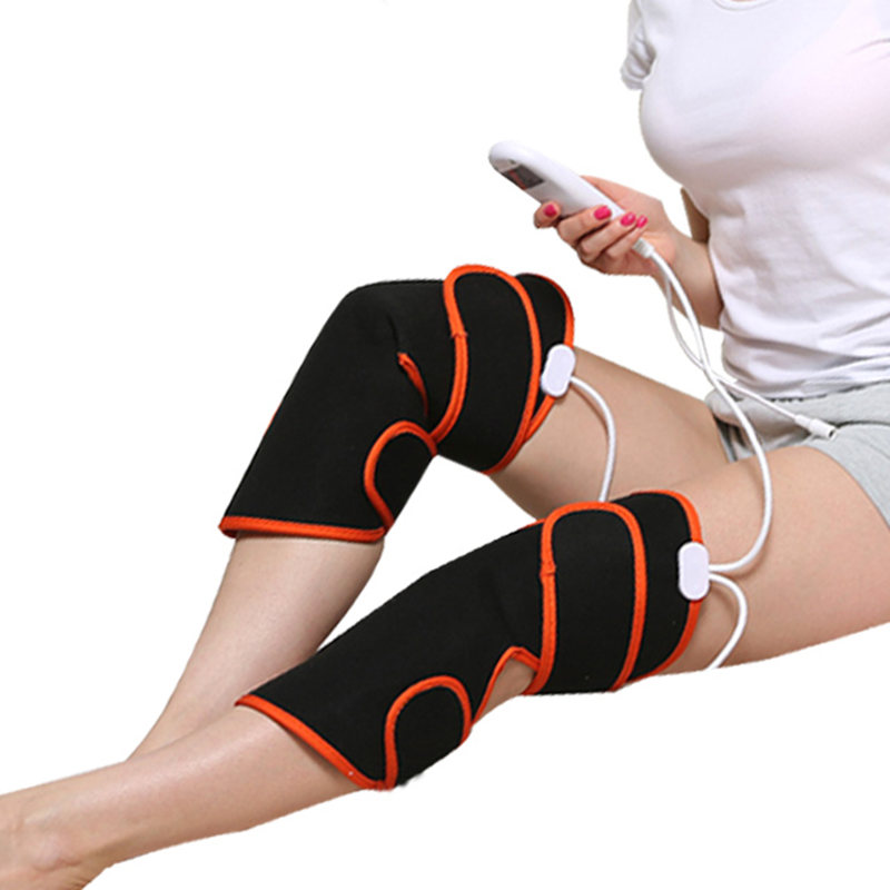 Moxibustion Electro-thermal Knee Protector for Old Cold Leg Physiotherapy Instrument of Knee Leg with Hot Compress Knee Massager thermal zipper fly straight leg jagger jeans