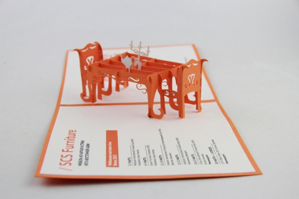 Christmas greeting card custom three-dimensional greeting card company customized customized activities customized New Year gree