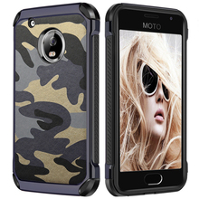 NTSPACE Case For MOTO G6 G5 G4 Plus G3 Army Camo Camouflage Shockproof Armor E4 E5 Z2 Play Z FORCE Back Cover