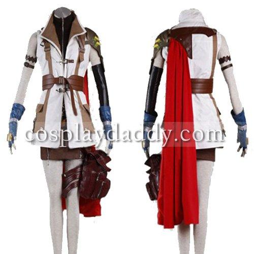 FF13 FINAL FANTASY XIII Kostým kostýmů blesků
