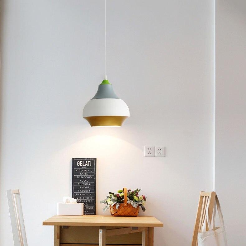 Modern Nordic Pendant Light Indoor Hanging Drop Light Contemporary Suspension Pendant Lamp Restaurant Dining Pendant Light (14)