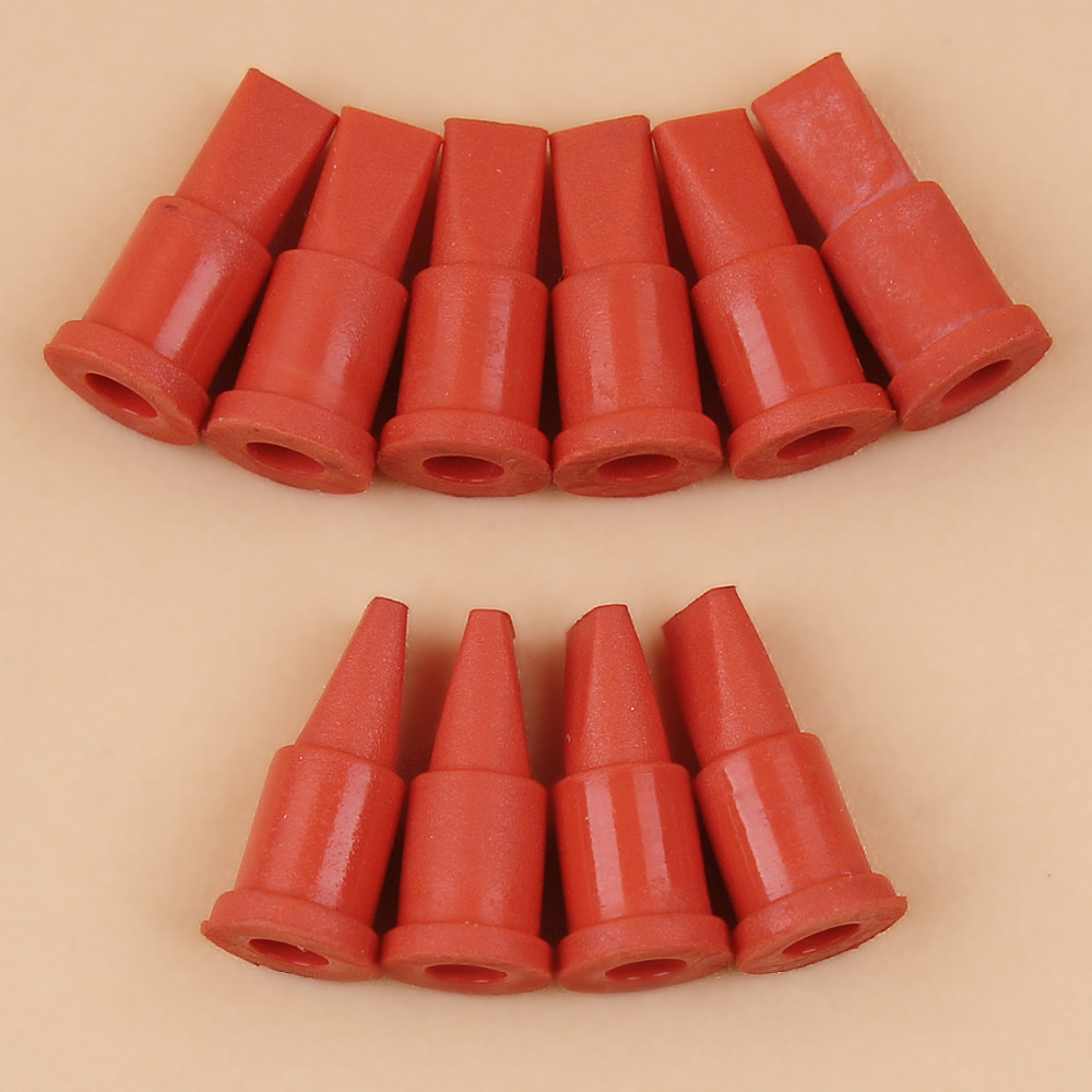 10Pcs/lot Fuel Oil Tank Vent Breather For STIHL MS170 MS180 MS180C 017 018 Chainsaw Duck Bill Duckbill #0747-313-6810