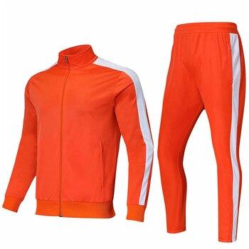4505bfac3fa91 Enfants hommes football survêtement 2019 football formation veste  sport costumes adulte personnaliser uniformes kits