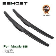 цена на BEMOST Car Wiper Blades Natural Rubber For Mazda 626 1991 1992 1993 1994 1995 1996 1997 1998 1999 2000 2001 2002 Fit U Hook Arm