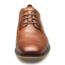 YIGER New Men Dress shoes formal shoes men's Handmade business shoes wedding shoes Big Size Genuine Leather Lace-up Male  0249
