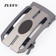 купить ZLRPH Famous Brand Belt Buckle Men Top Quality Luxury Belts Buckle for Men 3.5 cm Strap Male Metal Automatic Buckle по цене 1041.63 рублей