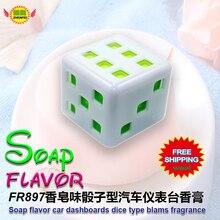 Car Accessories  soap flavor  car instrument desk aromatic  deodorant fragrance perfume fr897  free shipping