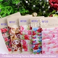 "5/8""Floral FOE elastic, 5Y/design, 25yards/lot, choose any 5 designs from 40 designs, pls note color NO. when place order"