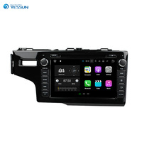 YESSUN Android Car Navigation GPS For Honda Fit 2014 2017 HD Touch Screen Audio Video Stereo