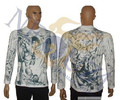Brand New Prison Break Вентворт миллер всего тела татуировки с длинным рукавом Футболка Размер M, L, XL