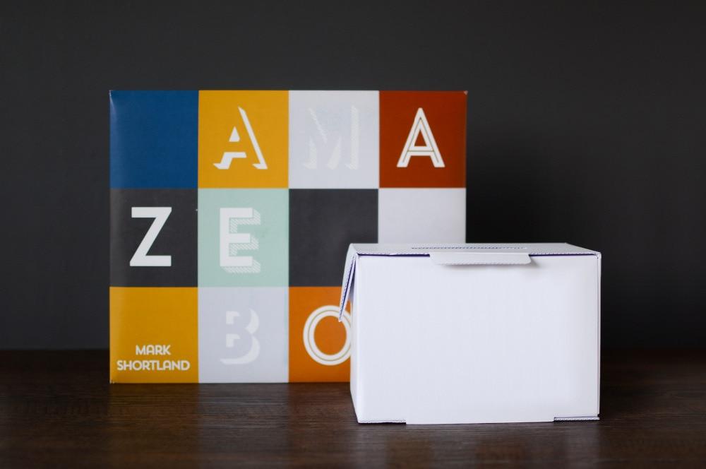 2017 nouveauté AmazeBox (Gimmicks et Instructions en ligne) par Mark Shortland et disparaître scène tours de magie accessoires
