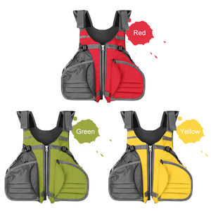 Image 5 - דייג Vest מתכוונן לנשימה שיט קיאקים שייט הציפה מעיל חזיית אבזר