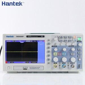 Image 2 - Hantek dso5102p dso5202p osciloscópio digital 100mhz 200mhz 2 canais usb usb portátil osciloscopio portatil ferramentas elétricas