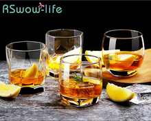 Whiskey Glass European Brandy Wine Glasses Home Bar Set Cup For Kitchen Counter Supplies