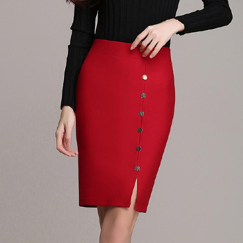 trendy slim stretch pencil skirts fashion formal