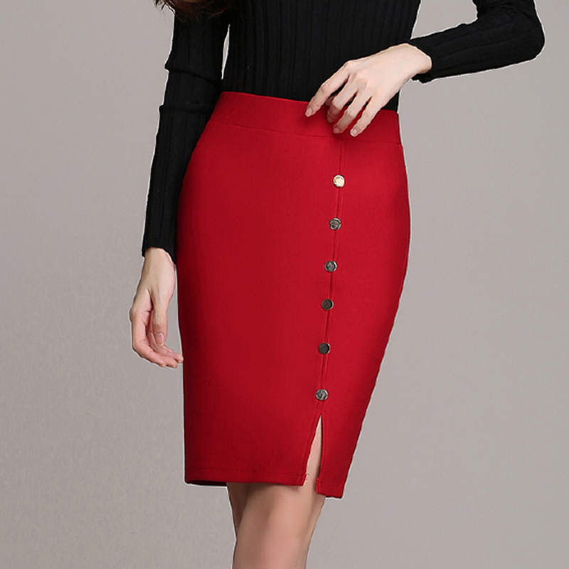 Popular Red Pencil Skirts-Buy Cheap Red Pencil Skirts lots from ...