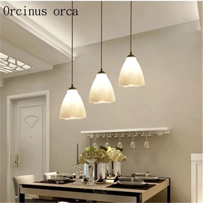 Us 64 0 Restoran Lampu Gantung Minimalis Modern Tiga Kreatif Meja Makan Lampu Fashion Kepribadian Ruang Makan Led Ruang Tamu Lampu In Liontin Lampu
