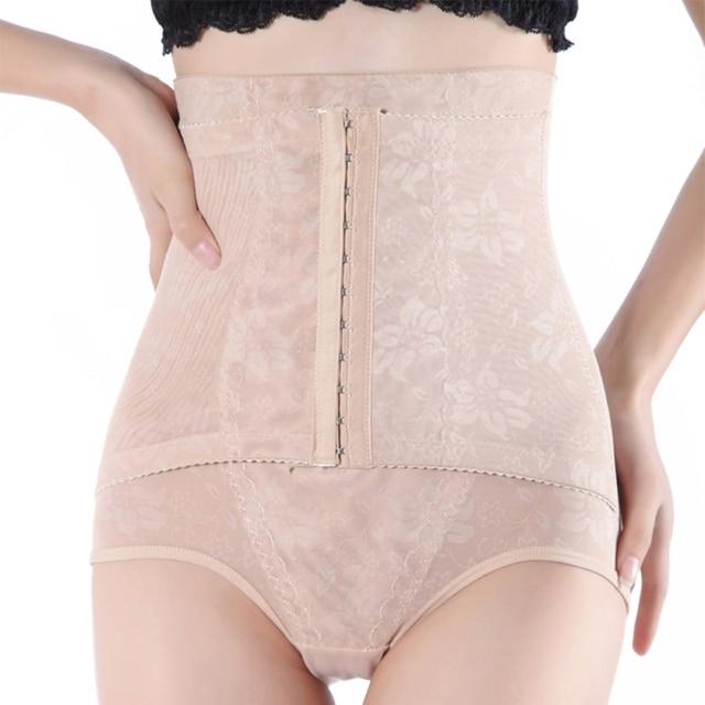 1307ca26974e6 High Waist Trainer Tummy Control Panties Butt Lifter Body Shaper Corsets  Hip Abdomen Enhancer Shapewear Underwear Panty Hooks