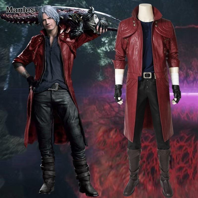 Lardoo Devil May Cry Dante cosplay costume
