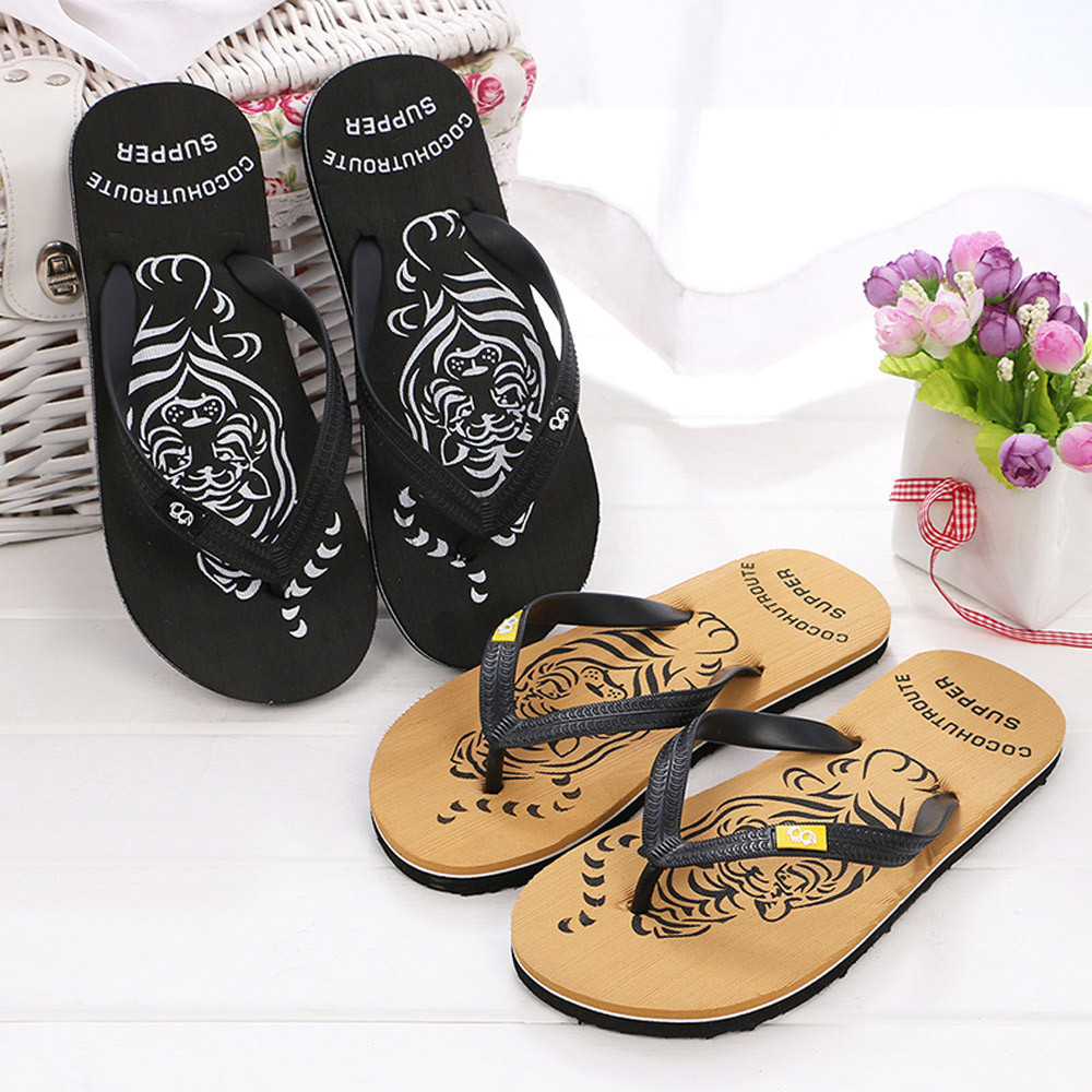 Slippers Men Flip-Flops Summer Shoes Outdoor Beach Male Hombre Fashion Erkek Ayakkabi