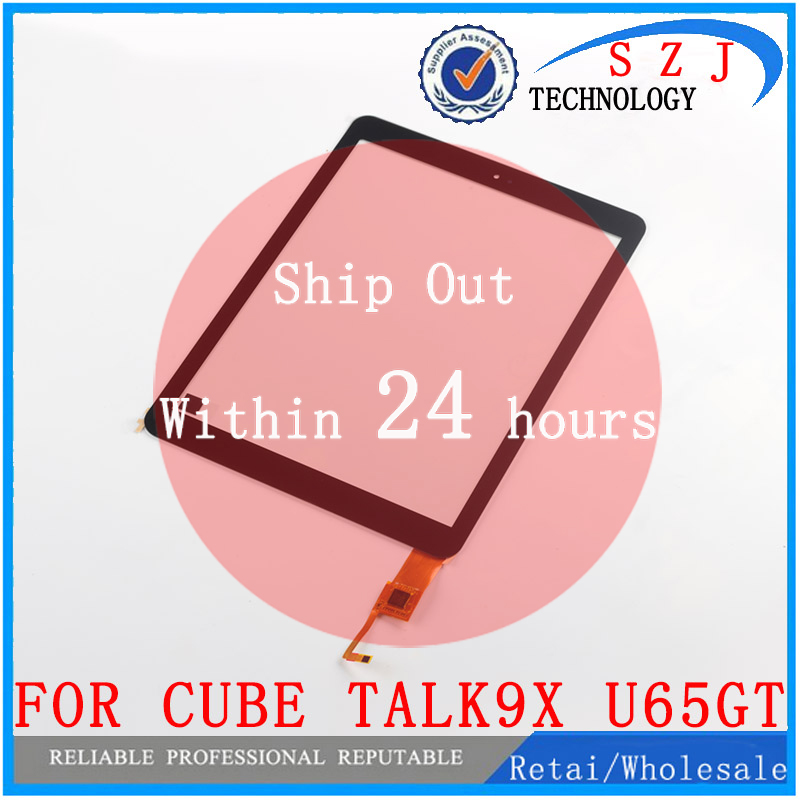 New 9.7 inch for Cube Talk9X U65GT 32GB Black Talk 9X Digitizer touch screen Panel Glass Touchscreen Replace Free shipping touchscreen for schneider xbtgt1105 touch screen panel glass free shipping